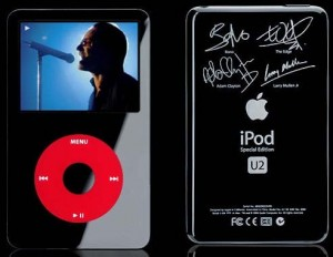 Apple U2 iPod with Bono &amp; Band Signature