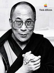 Dalai Lama, Apple Think Different Poster