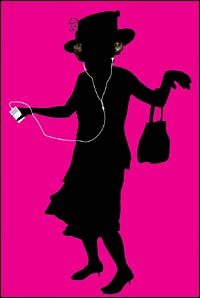 Queen Elizabeth with iPod?