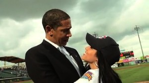 Obama Girl with Obama?
