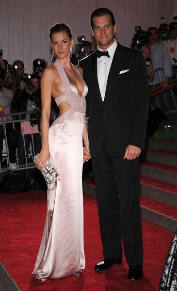 Tom Brady and Gisele Bundchen on the red carpet b56191e9cb1b
