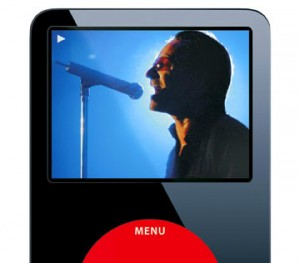 U2 Bono Apple iPod Ad