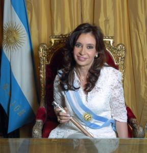 Cristina Fernandez Kirchner, President of Argentina, Elected in 2007