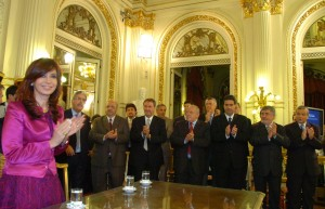 Cristina Fernandez Kirchner and Governors of Argentina