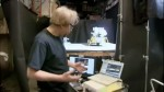 Mythbusters Tests Moon Landing Nasa Hoax Myth, Adam Savage with Apple mac laptop