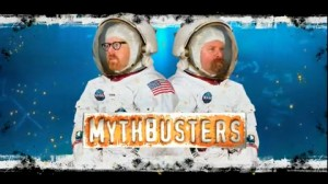 Mythbusters in Spacesuits, tests NASA Moon Landing Hoax Myth