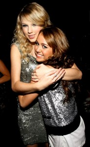 Taylor Swift and Miley Cyrus