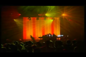 Underworld Concert iPhone live stream, August 7, 2009