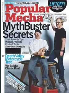 Mythbusters Popular Mehcanics Cover, September 2009