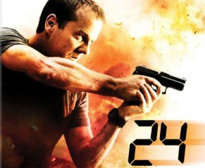 Kiefer Sutherland on 24, Redemption Poster