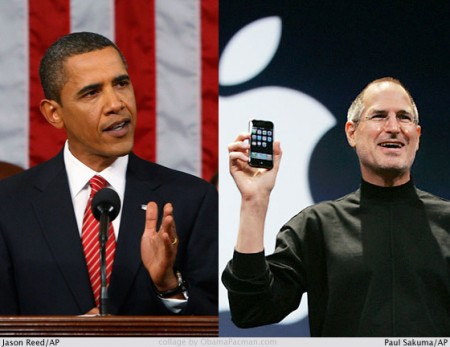 Obama health care change can use some Apple style? Barack Obama vs Steve Jobs
