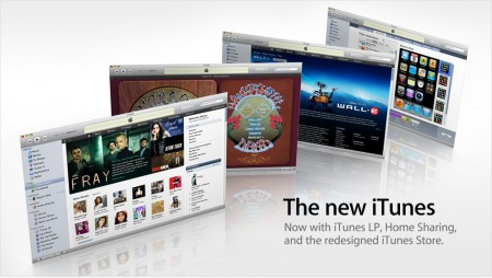 Apple iTunes 9.0 with cool new features including iTunes LP