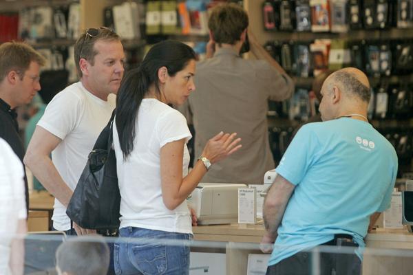 Kiefer Sutherland Kids Keifer sutherland, at a soho