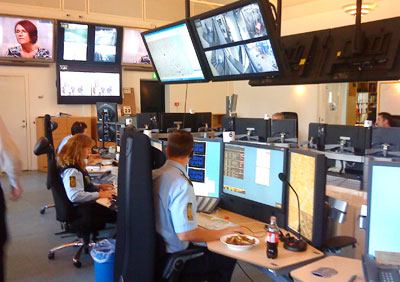 Denmark's Copenhagen Police high tech control center is Mac only