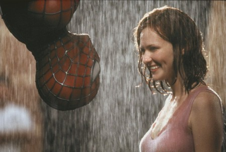 Kirsten Dunst as Mary Jane Watson in spider man (2002)