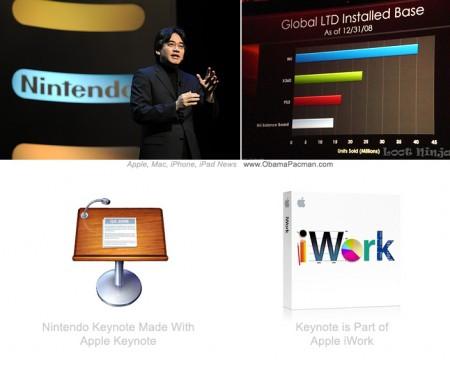 Nintendo CEO uses Mac, Apple Kenote, iWork productivity suite, microsoft office subsitute