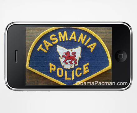 App for Apple iPhone helps Tasmania Police Australia catch criminals