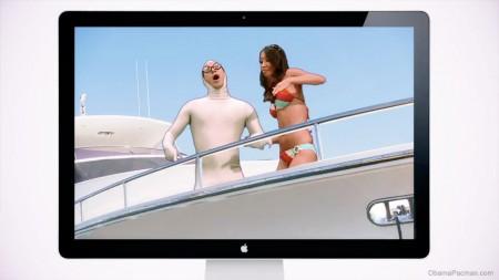 I'm On A Mac, I'm On a Boat parody, featuring PC-Pain and bikini girl