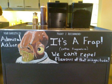 It's a Frap, Star Wars Admiral Ackbar It's a Trap Spoof