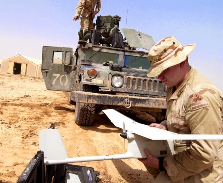 Raven Military Drone UAV