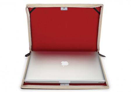Interior, BookBook MacBook Pro Leather Cover  for Apple Mac