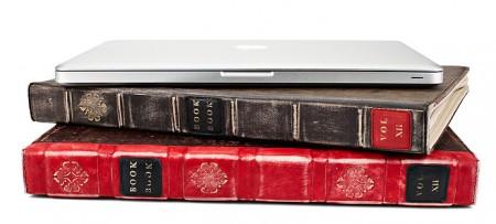 Spine, BookBook Apple MacBook Pro Leather Cover