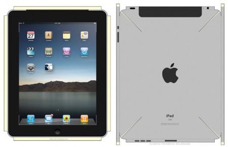 3. DIY iPad Papercraft Mockup, improved, Apple Tablet V2 iPapercraft