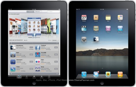 Apple iPad full size mockup high resolution image download