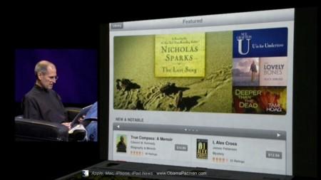 Apple iPad iBookstore ebook potential e-book prices