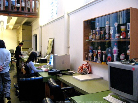 Awards Cabinet, trophies of irrelevance, KesselsKramer HQ, Church of Mac Creative Agency