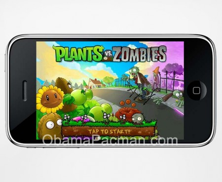 PopCap Plant vs. Zombies iPhone game