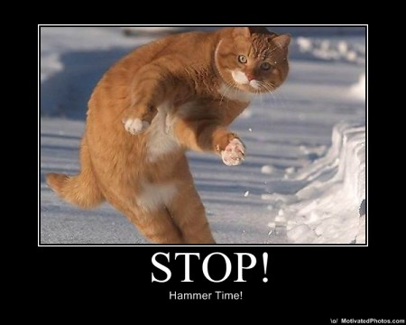 Stop Hammer Time Obama Pacman