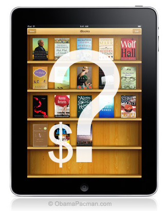 What are Apple iPad iBookstore ebook Prices