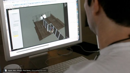 3D animation made with Maya, Vivmag Future Apple iPad tablet magazine