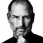 Apple CEO Steve Jobs BW