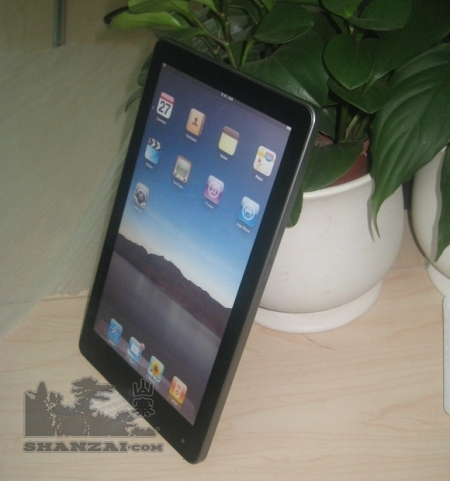 Fake Apple iPad tablet with Android os, ARM processor, widescreen