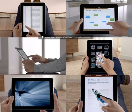 First Apple iPad tablet ad