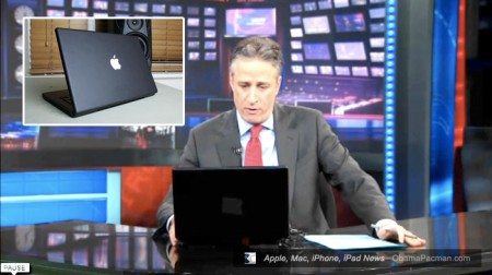 Jon Stewart, Daily Show Uses Apple MacBook Laptop, Takes a Spin on ChatRoulette
