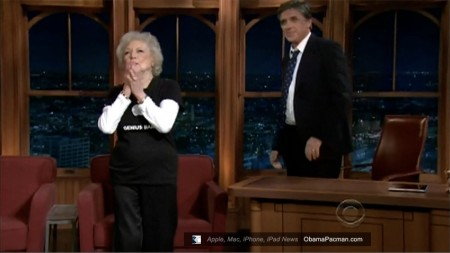 Genius Bar Employee, 88 year old Betty White Explains iPad, Reveals New Apple Product on CBS Late Late Show
