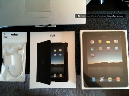 Launch Day Apple iPad tablet