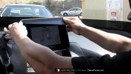 Nissan Maxima, Apple iPad car dash mod in second car by Sound Man Car Audio