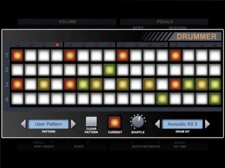 pianist pro app drum machine rana apple ipad dj kit obama pacman. Black Bedroom Furniture Sets. Home Design Ideas