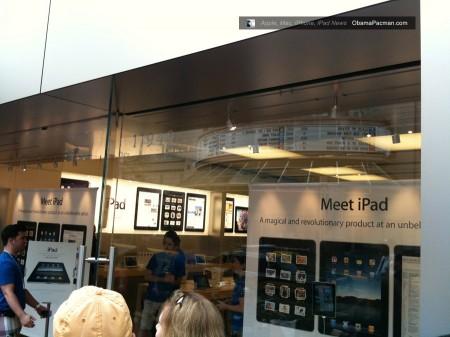 Reston Apple Store, iPad launch day line, queue photos 0436