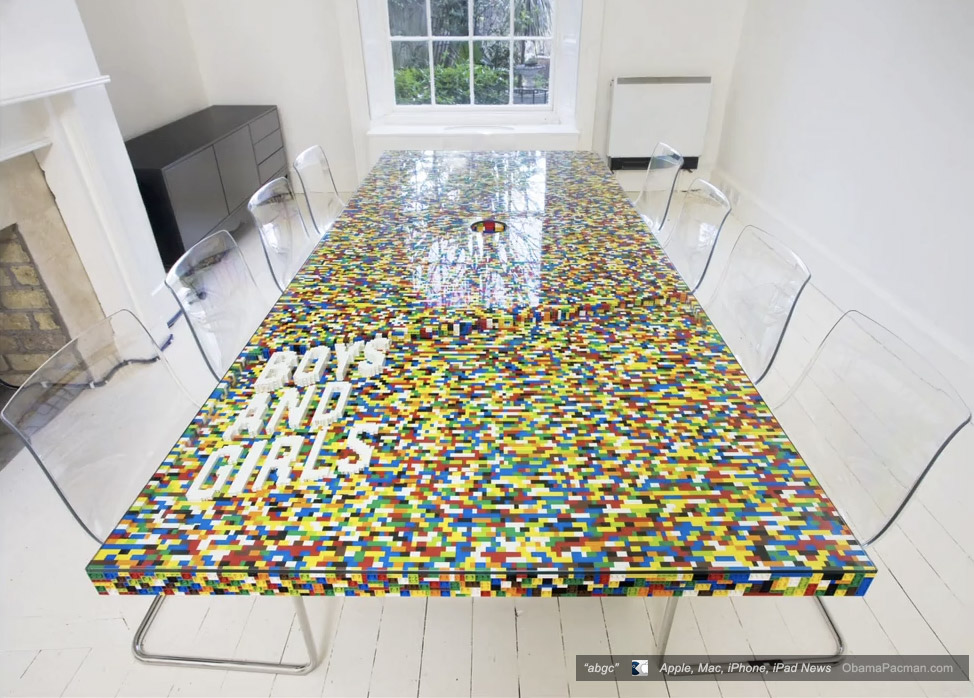 Good Abgc Lego Boardroom Table With Ghost Chairs Photo Gallery