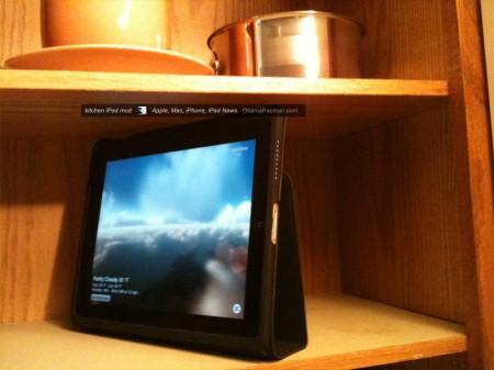 DIY Apple iPad Kitchen Install Mod by ObamaPacman OP Editor side