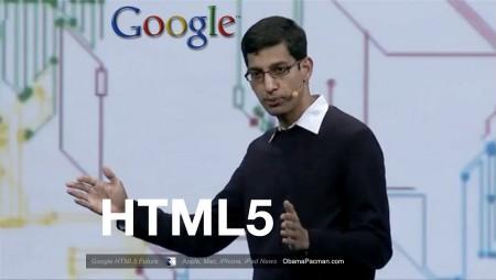 Google VP Sundar Pichai Keynote HTML5 Web Future