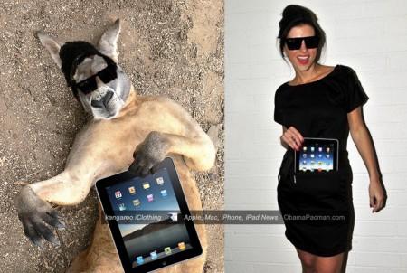 iClothing Kangaroo Inspired iPad Clothing