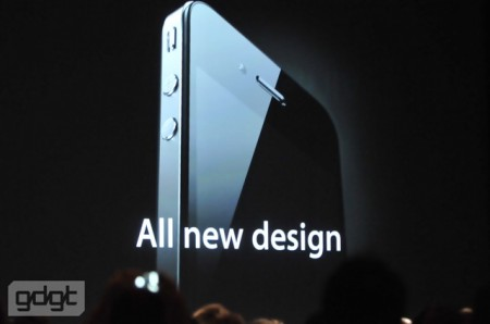 All new design, Apple iPhone 4 with HD video WWDC 2010