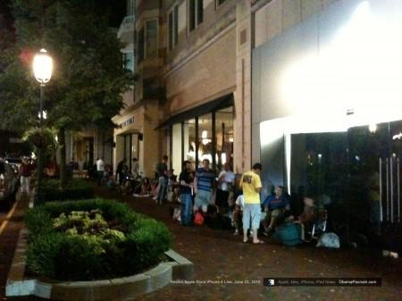 Apple Store Reston iPhone 4 Line, Queue June 23, 2010