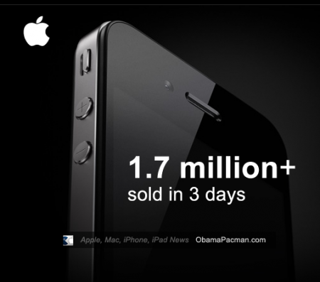 Apple iPhone 4 Record Sales, Over 1.7 Million in 3 days